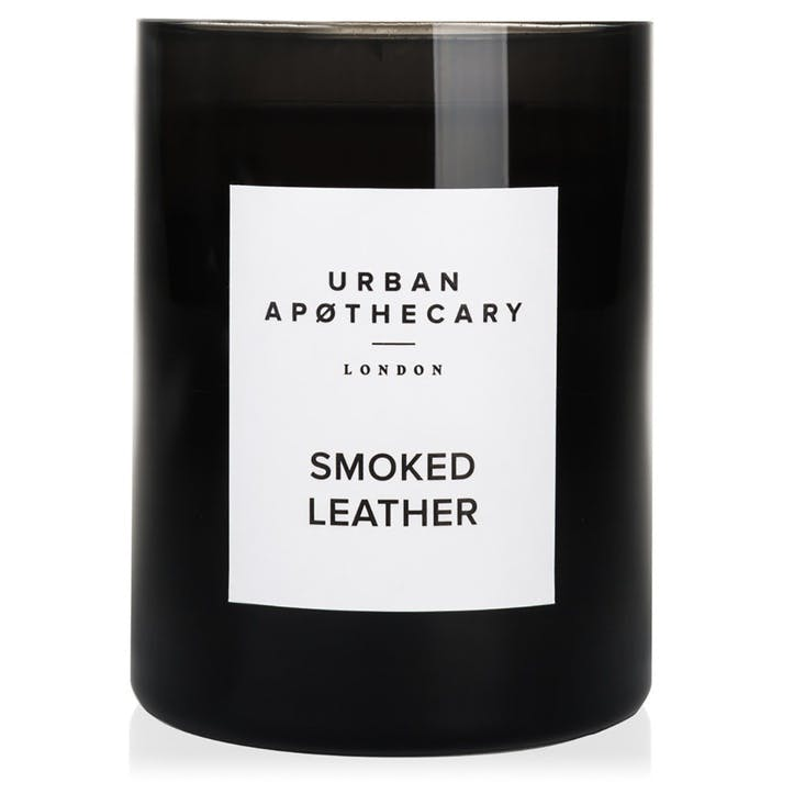 Smoked Leather Luxury Candle, 300g