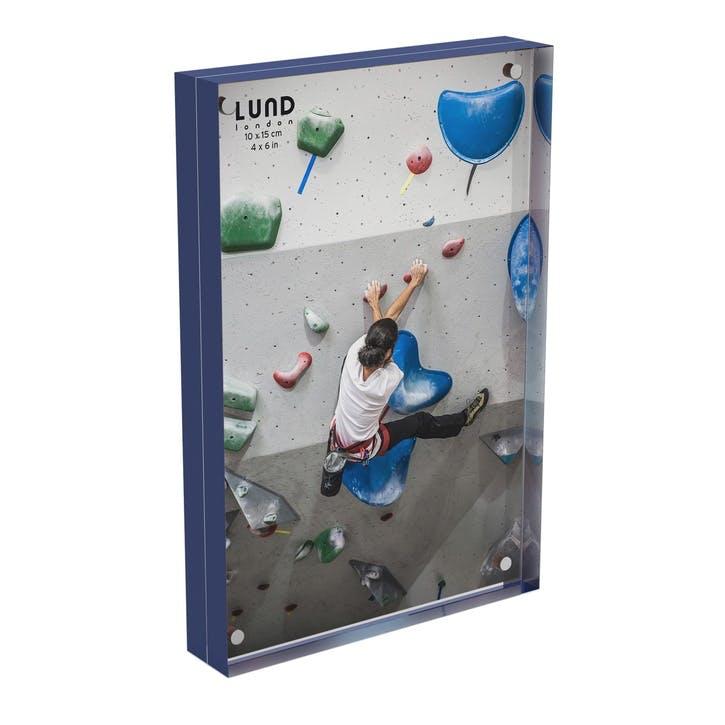 Skittle, Magnet Frame, H15 X W10cm, Indigo