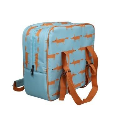 Mr Fox Cool Bag, Blue