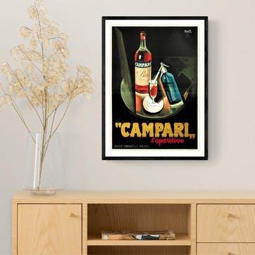 East End Prints, Campari Framed Art Print