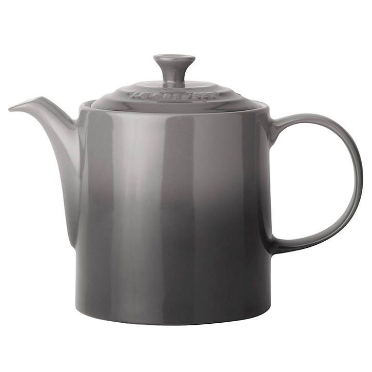 Stoneware Grand Teapot - 1.3L; Flint