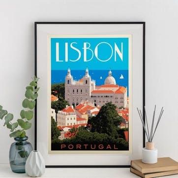 Lisbon Print