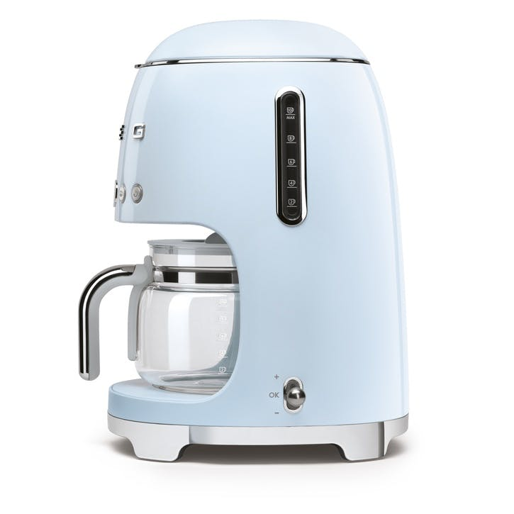 Drip Coffee Machine, Pastel Blue
