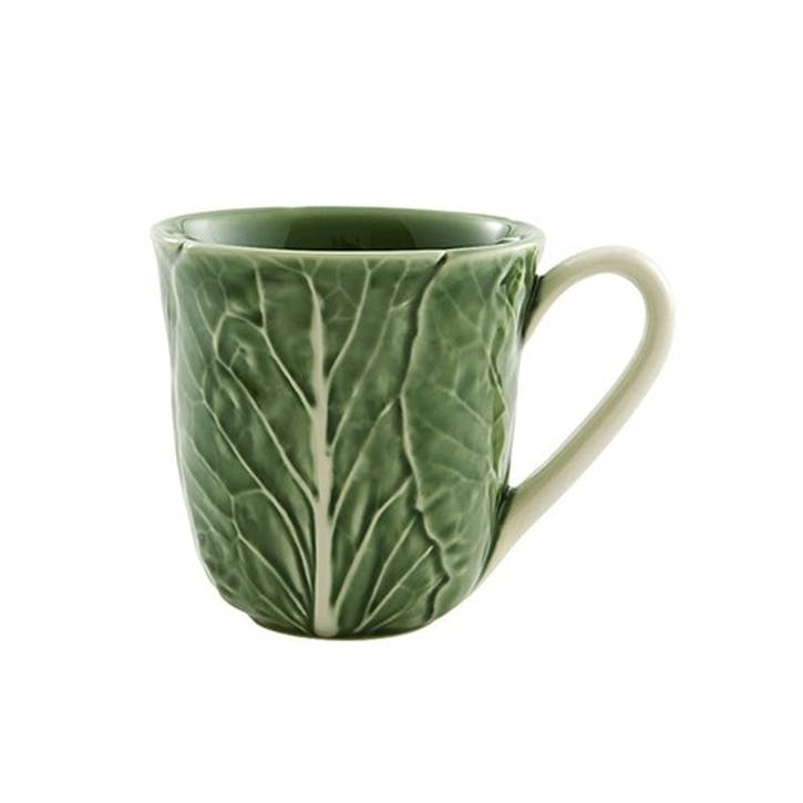 Cabbage Mugs, Set Of 4, 250ml, Green