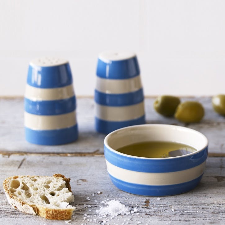 Cornish Blue Dip Dishes, Set of 4