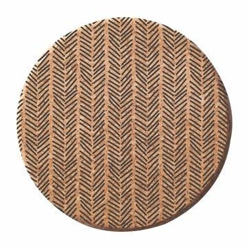 Monochrome Cork Trivet
