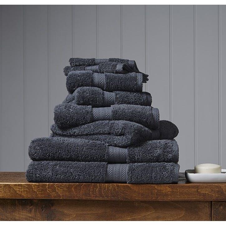 Renaissance Ash Grey Hand Towel