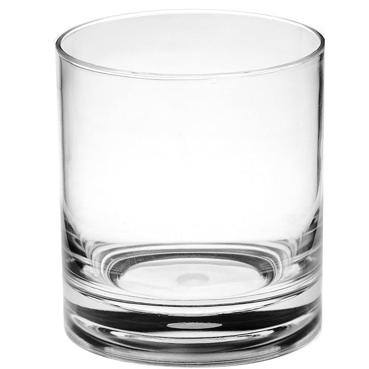 Acrylic Old Fashioned Tumbler, Set Of 4, 355ml