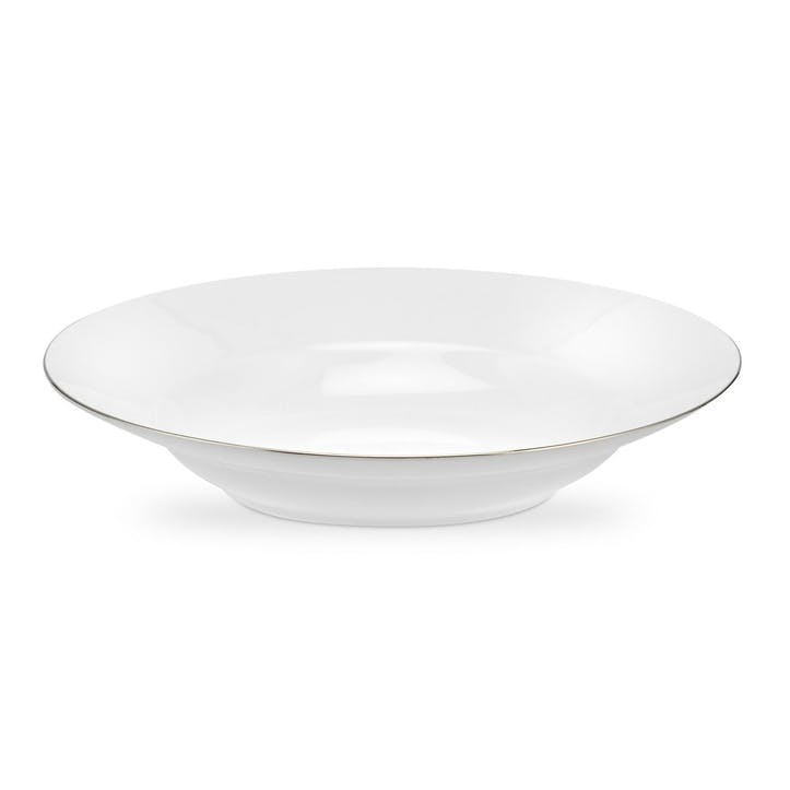 Serendipity Soup Plate, Set of 4 -  23.5cm; Platinum