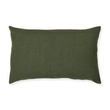 Barnsbury Rectangular Cushion, Green
