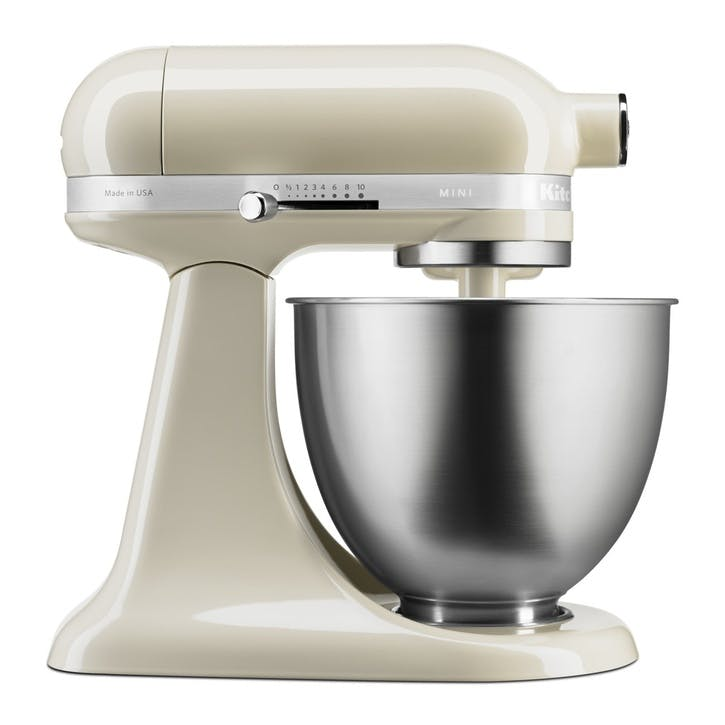 Mini Stand Mixer, Almond Cream, 3.3L