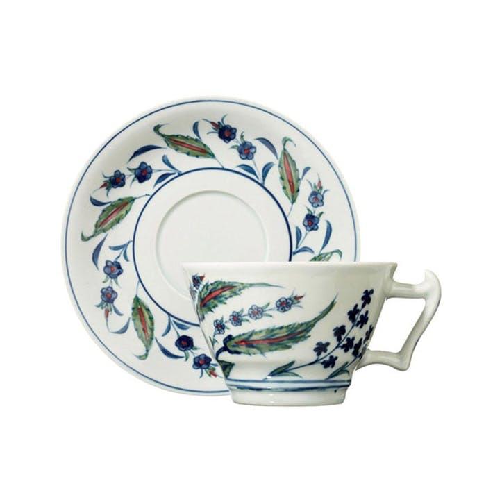 Isphahan Breakfast Tea Cup & Saucer