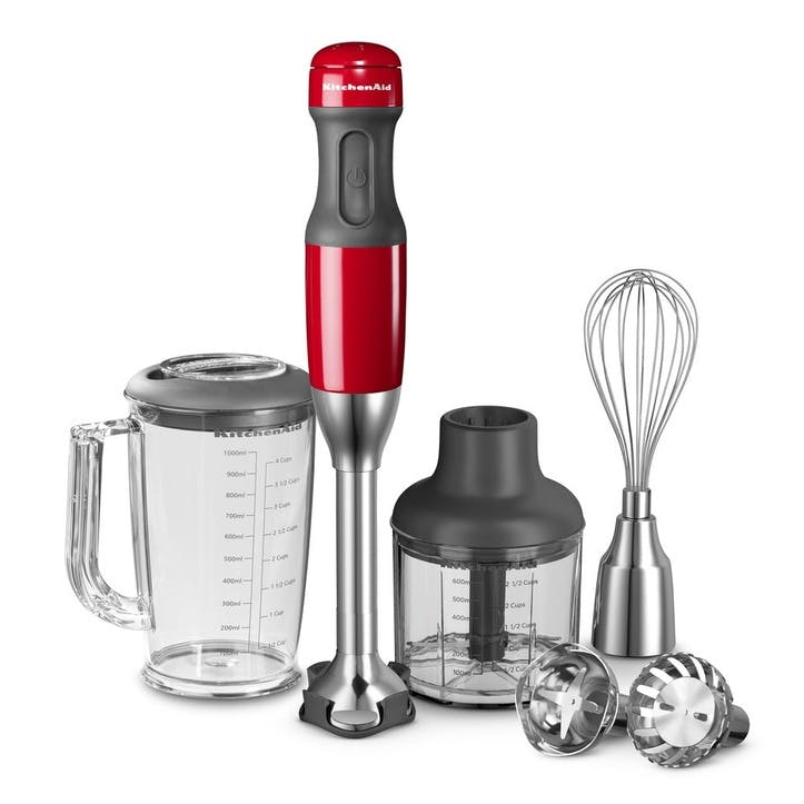 5-speed Hand Blender Set, Empire Red