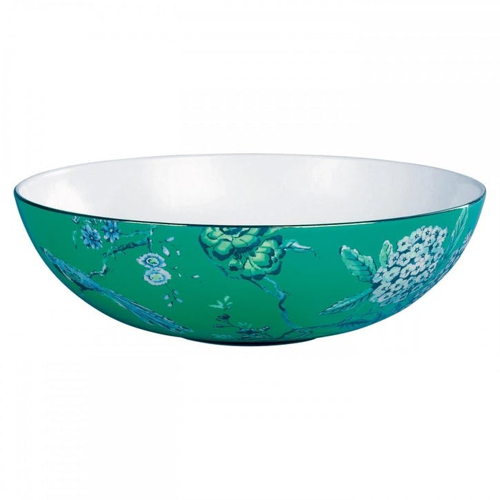 Chinoiserie Cereal Bowl, Green