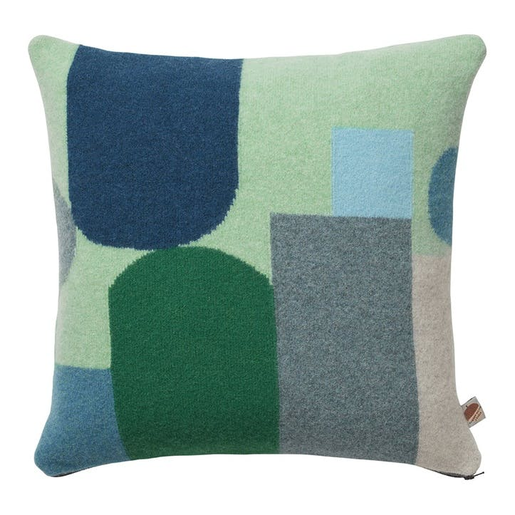 Hue Square Cushion, 42cm, Blue