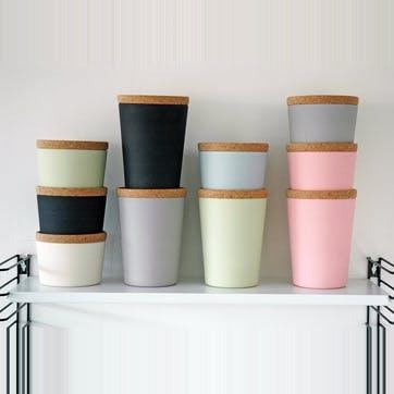 Store & Stack Pot, Medium, Blue