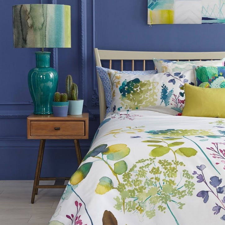 Botanical King Duvet & Pillowcase Set