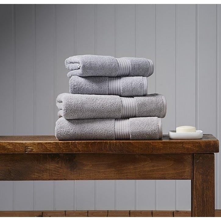 Supreme Hygro Silver Guest Towel