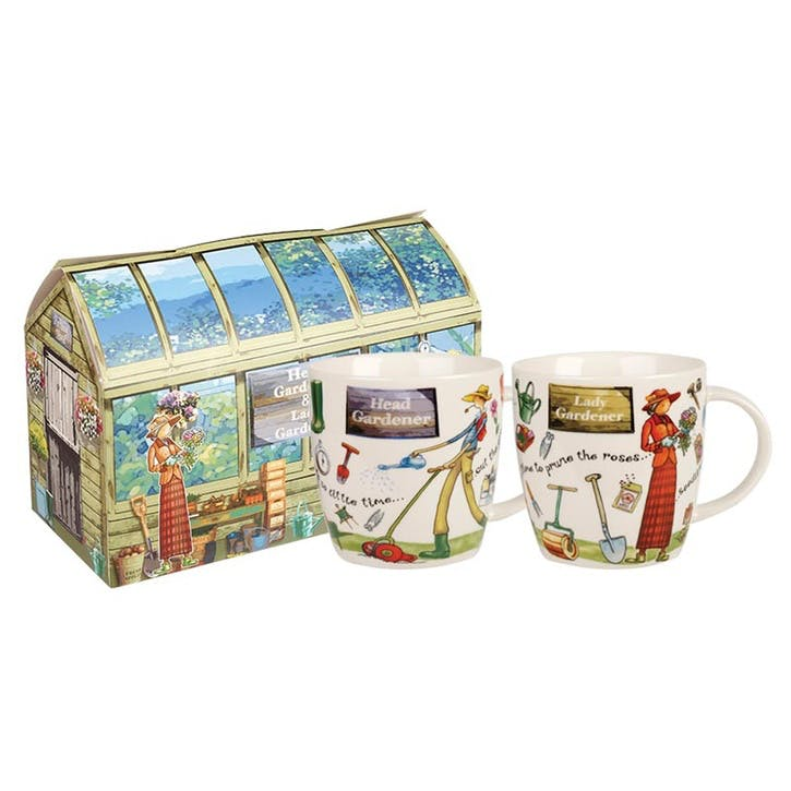 At Your Leisure Gardeners Mug Set