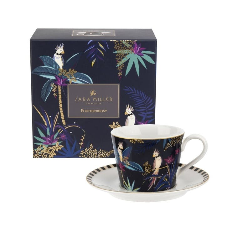 Cockatoo Teacup & Saucer, 0.20L