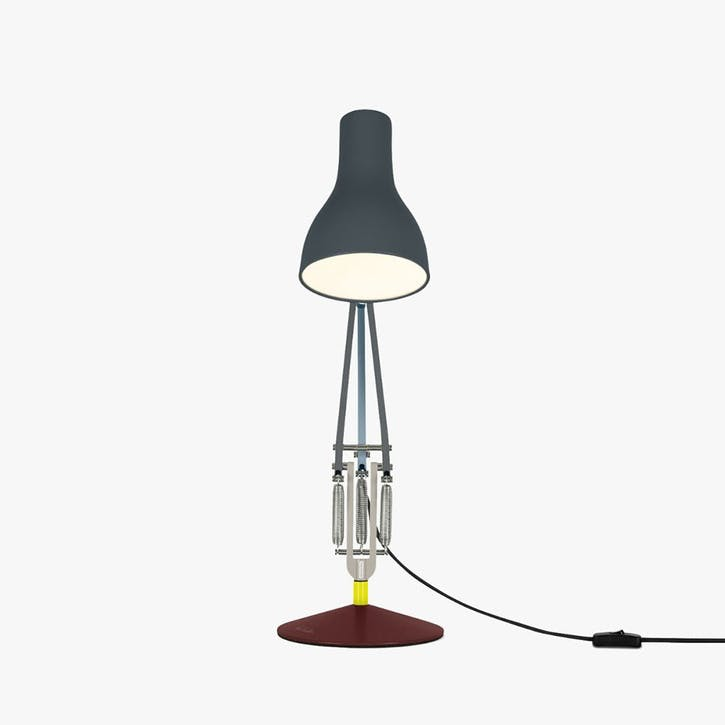 Type 75 Paul Smith Edition 4 Desk Lamp, Multicolours and Dark Grey