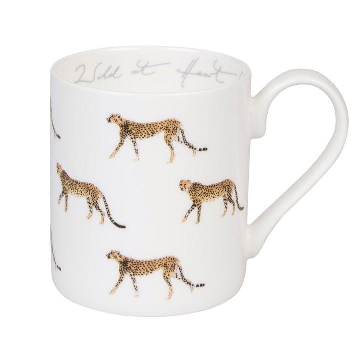 ZSL 'Cheetah' Wild At Heart Mug - Standard