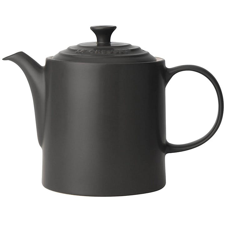 Stoneware Grand Teapot - 1.3L; Satin Black