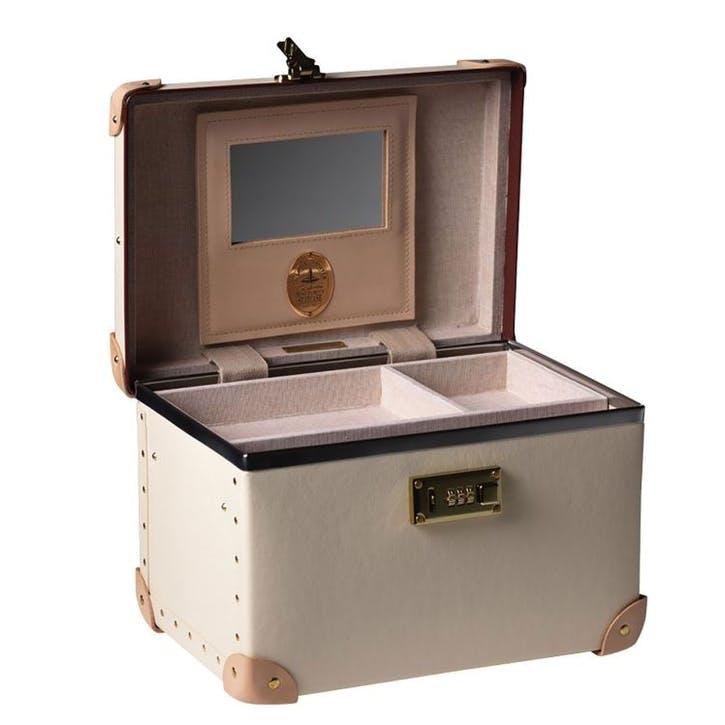 13 Inch Vanity Case; Ivory
