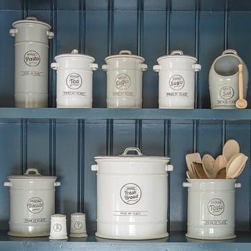 Pride of Place Utensils Jar, Cool Grey