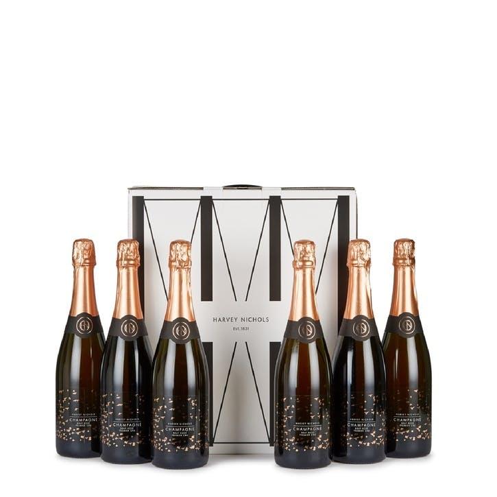 Brut Champagne Rosé - Case of Six