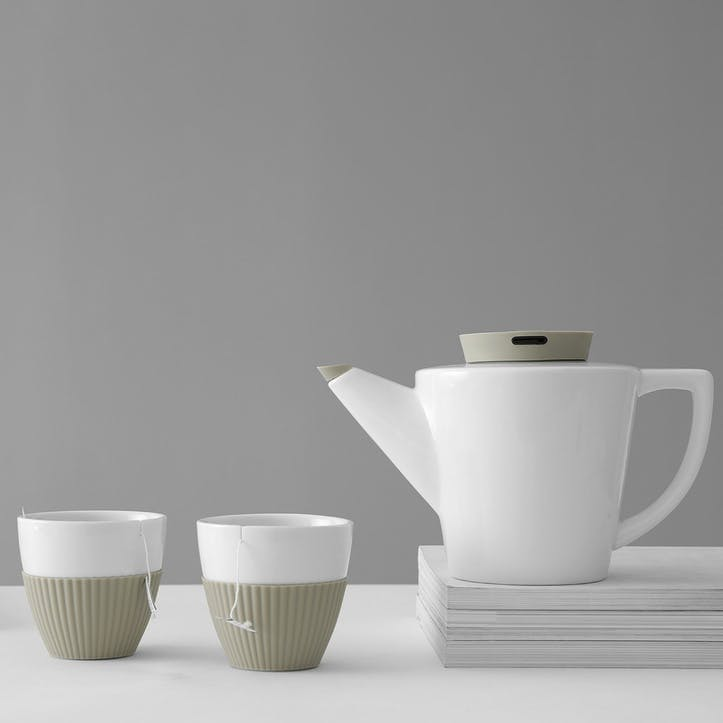 Infusion Tea Set, Buttermilk