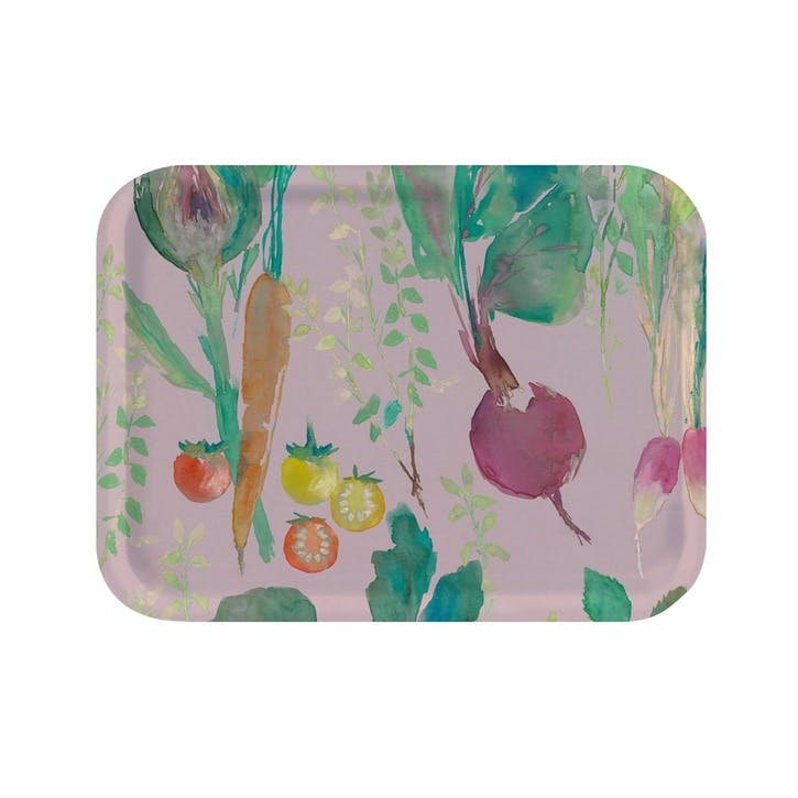 Vegetable Patch Tray, Mini, Rosehip