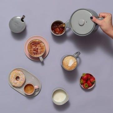Café Concept Tea Mug, Dark Grey