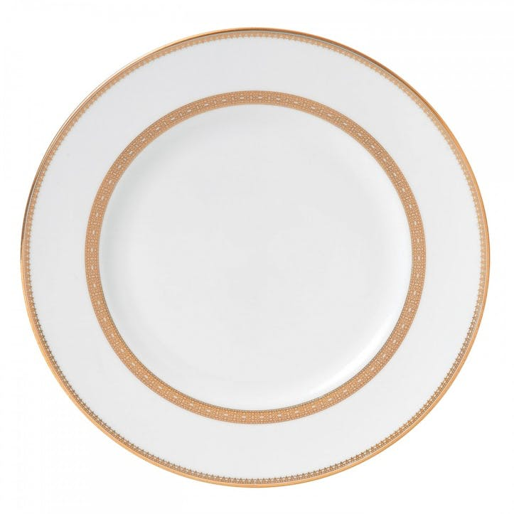 Lace Gold Dinner Plate