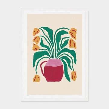 Liv Lee, Tulips Art Print, Unframed, A2