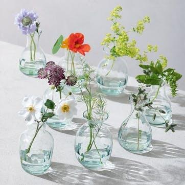 LSA Mia Recycled Mini Vase Trio