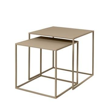 Fera Set of 2 Side Tables, Nomad