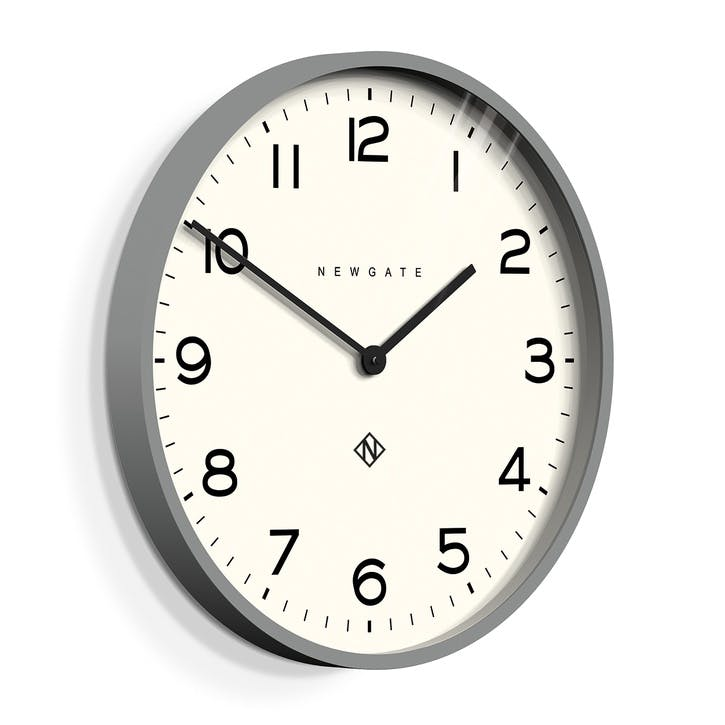 The Echo Clock, 53cm; Posh Grey
