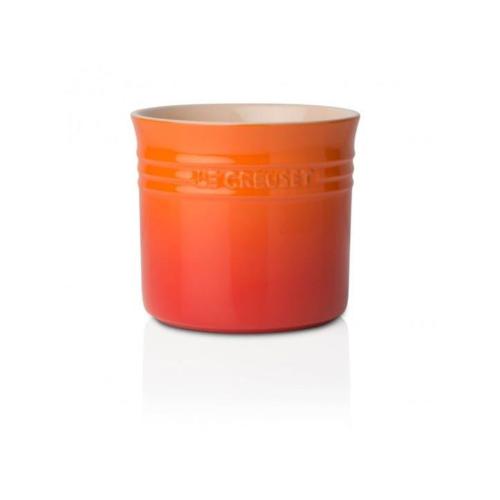 Stoneware Large Utensil Jar; Volcanic