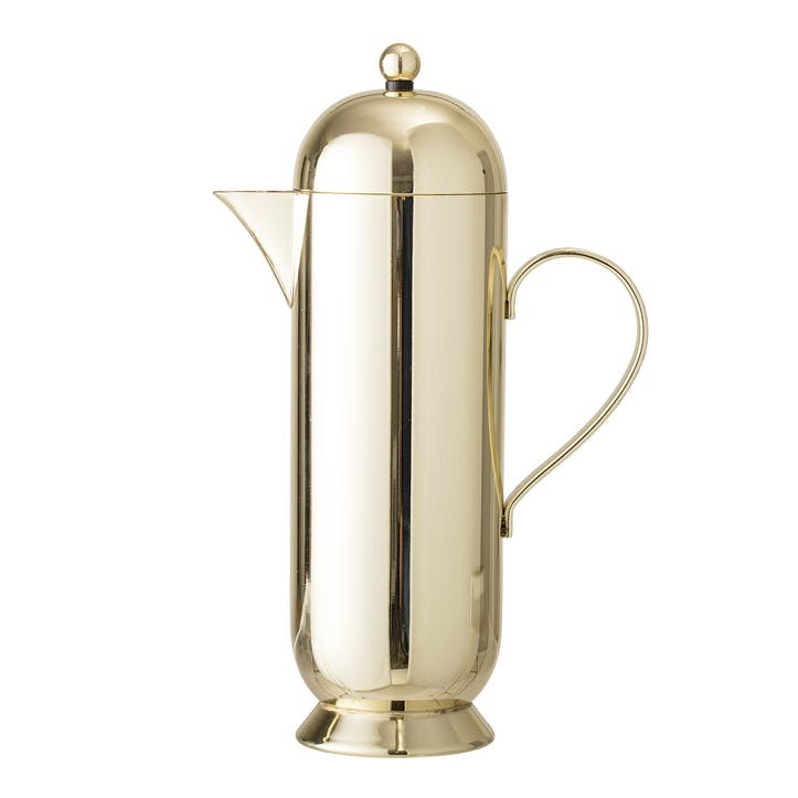 Stainless Steel Coffee Pot, Gold
