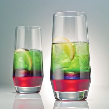 Set of 4 long drink tumblers