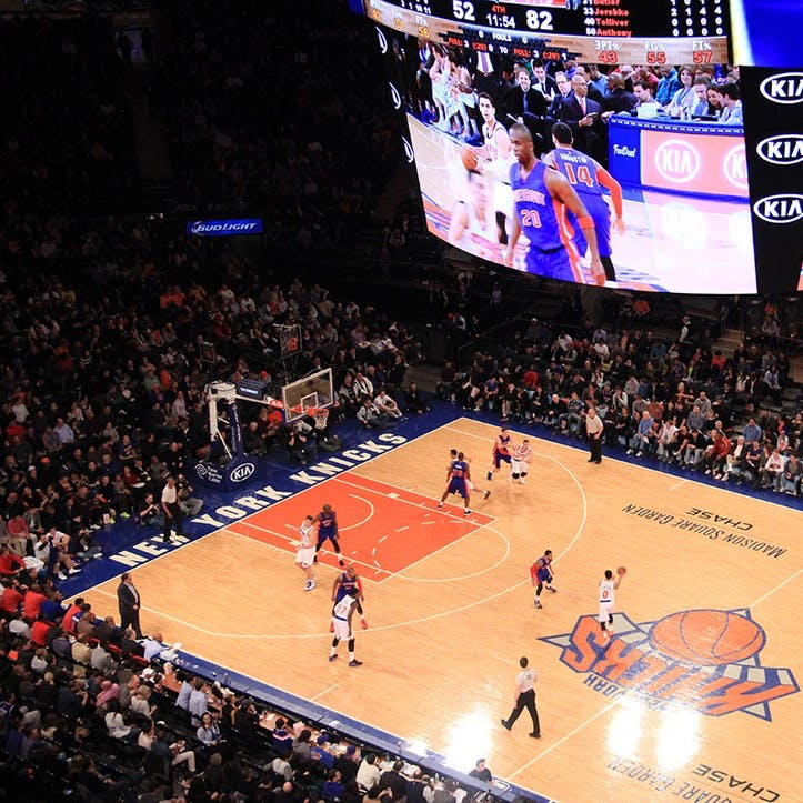 Watch A Game At Madison Square Garden