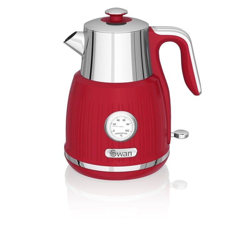 Retro Jug Kettle, Red