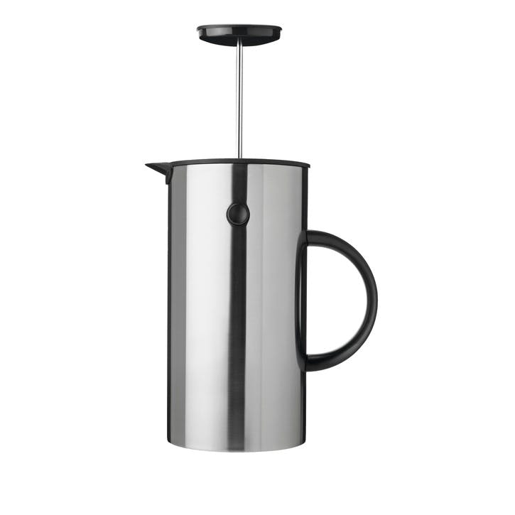 EM French Press 1L, Stainless Steel