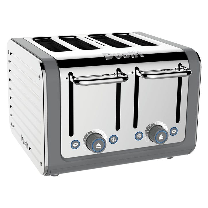 Architect Toaster, 4 Slot; Grey