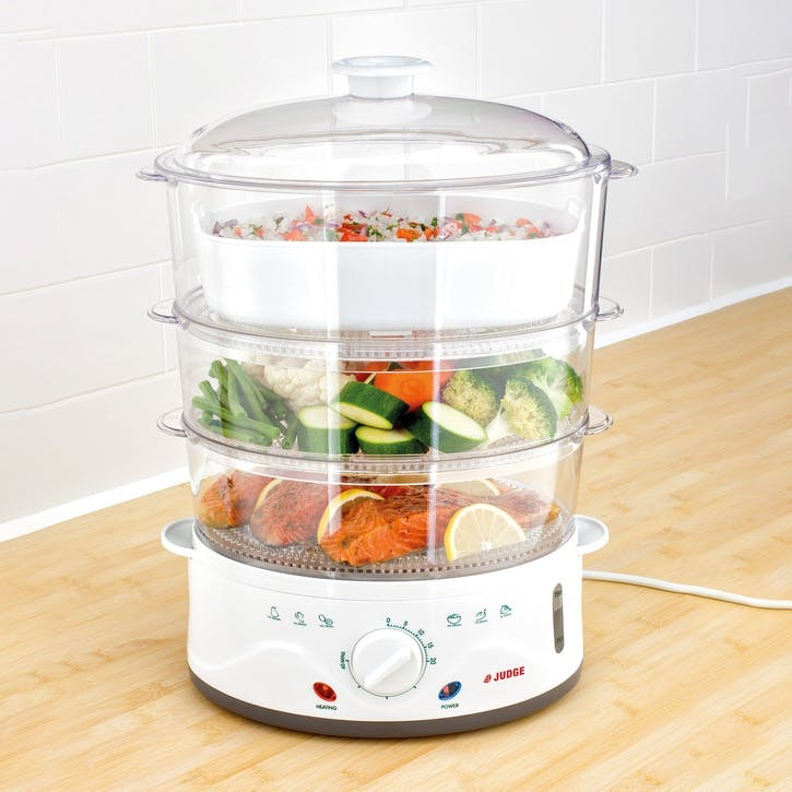 3 Tier Electric Steamer Set