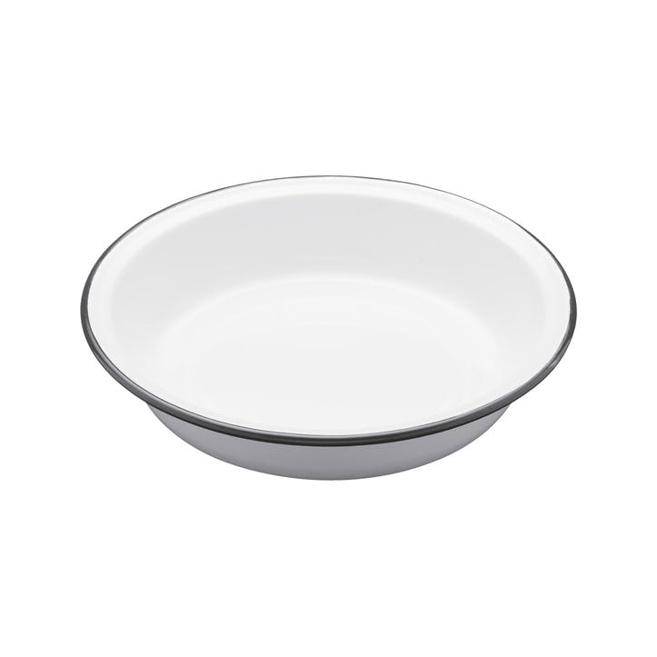 Enamel Round Pie Dish