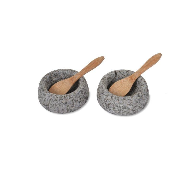 Salt and Pepper Pots, Granite