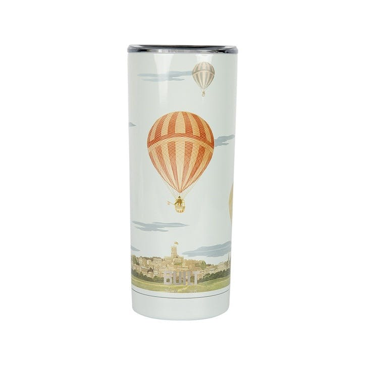 Double Walled Stainless Steel Coffee Cup, Hot Air Balloon