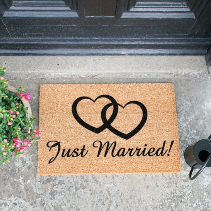 Just Married Doormat